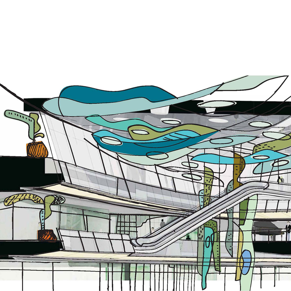 environmentes-HappyHarbour-atrium-sketch
